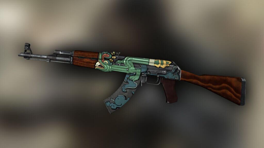 StatTrak™ AK-47 Fire Serpent