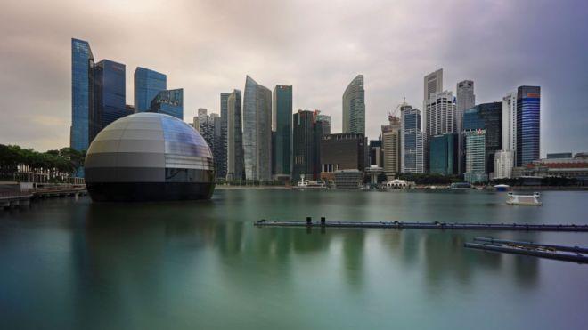 Singapur, Çin'in Teknoloji Devleri İçin Merkez Oluyor
