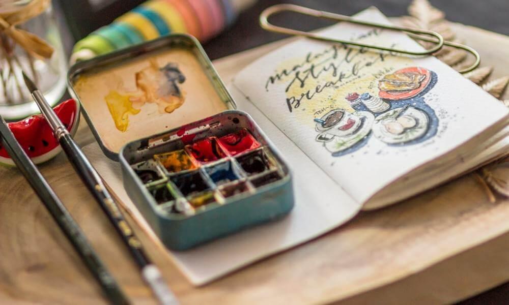 Sulu boya teknikleri