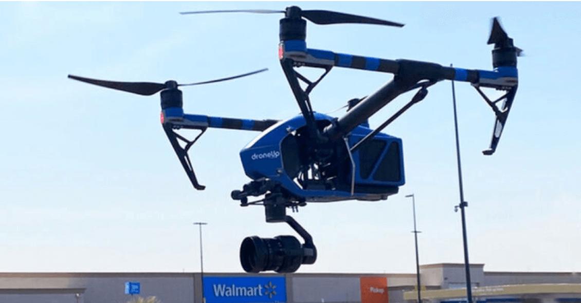 WALMART, Drone Aracılığıyla Covid-19 Testleri Dağıtıyor