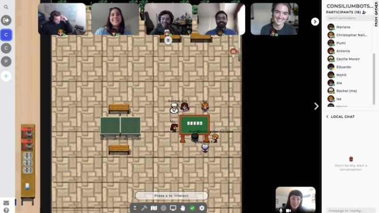 Zoom'u Unutun: Artık Retro Video Oyunu İçinde Toplantı Yapabilirsiniz.