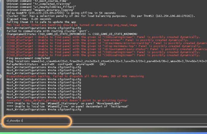 CSGO FPS Vision | CSGO FPS Show Code (Windows, Mac)