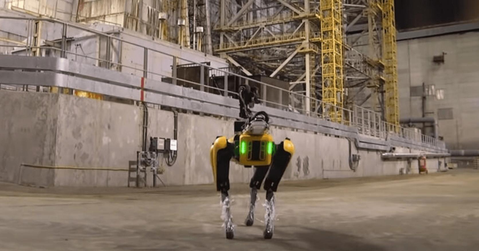 Bilim Adamları Boston Dynamics Robodog'u Çernobil'e Gönderiyor