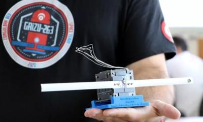 Türkiye'nin İlk Cep Uydusu: Grizu-263A