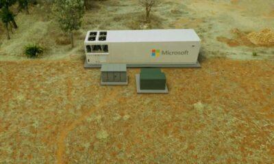Microsoft Taşınabilir Bir Veri Merkezi Yaptı