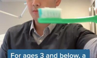 Bir Diş Hekimi, Diş Fırçalarken Ne Kadar Macuna İhtiyacınız Olduğunu Gösterdikten Sonra TikTok'ta Viral Oldu