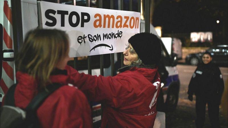 Amazon'da Grevler Durmuyor, Tam Zamanlı Çalıştırmaya Devam Ediyor