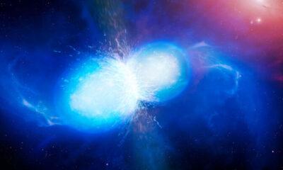 Bilim Adamları İki Yıldızın Birbirine Çarptığını Gördü