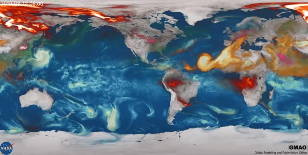 NASA, Karantina Altında Doğayı Ne Kadar Az Kirlettiğimizi Açıkladı