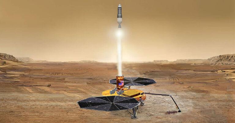 Uzmanlar NASA'yı Mars Örneklerini Dünya'ya Geri Göndermeye Çağırıyor