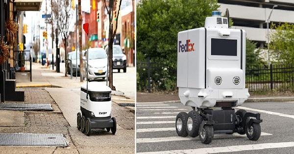 Pennsylvania, 550 pound ağırlığa sahip teslimat robotlarını yasallaştırdı ve onları yaya olarak sınıflandırdı