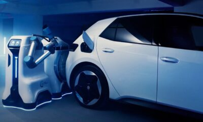 Volkswagen Fütüristik Araç Şarj Robotunu Tanıttı