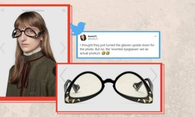 Ters Gözlük Satan Gucci Sosyal Medyada Alay Konusu Oldu