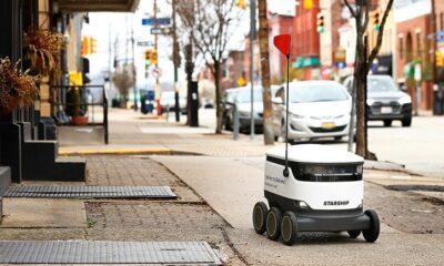 Pennsylvania 250 Kilo Ağırlığa Sahip Teslimat Robotlarını Yasallaştırdı