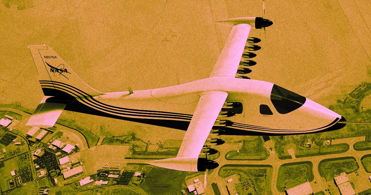 NASA Elektrikli Uçaklar Üzerinde Çalışıyor